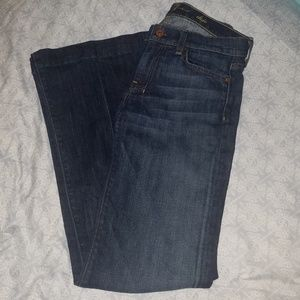 7 for all mankind dojo jeans 27 :MAKE AN OFFER